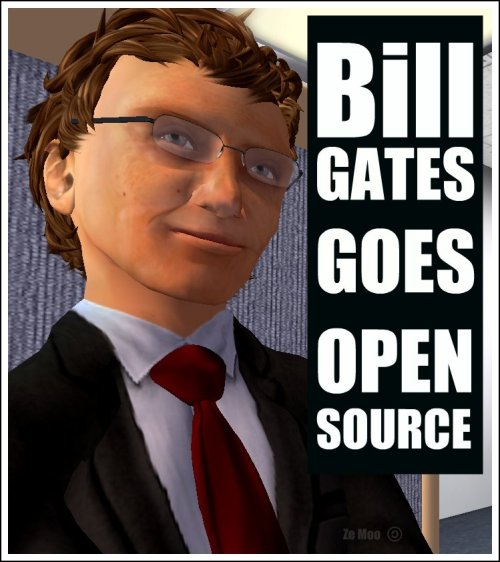 Bill Gates goes Open Source [1]